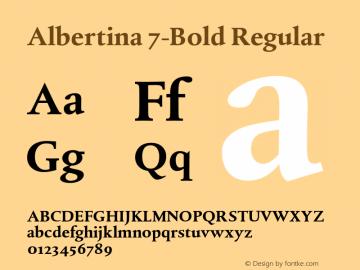 Albertina 7-Bold
