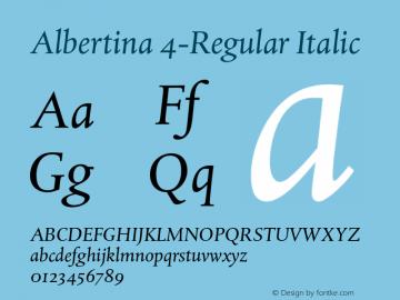 Albertina 4-Regular