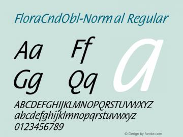 FloraCndObl-Normal