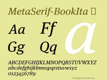 MetaSerif-BookIta