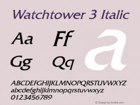 Watchtower 3