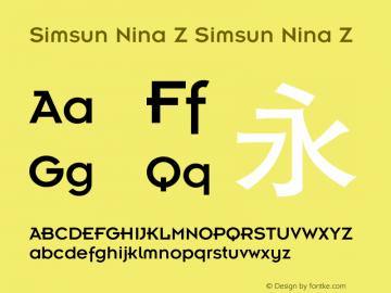 Simsun Nina Z