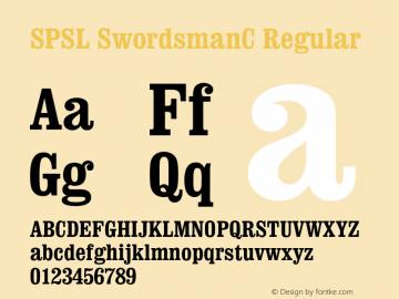 SPSL SwordsmanC