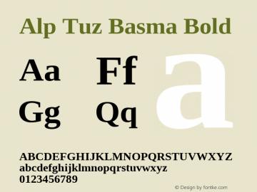 Alp Tuz Basma
