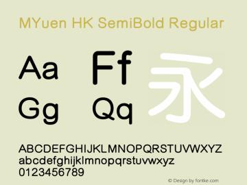 MYuen HK SemiBold