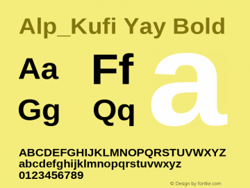 Alp_Kufi Yay