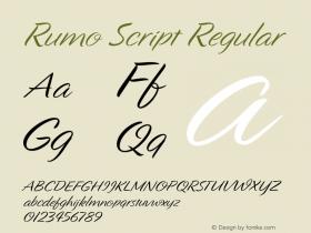 Rumo Script