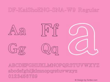 DF-KaiShoENG-SNA-W9