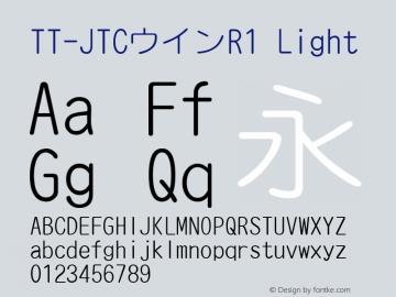 TT-JTCウインR1