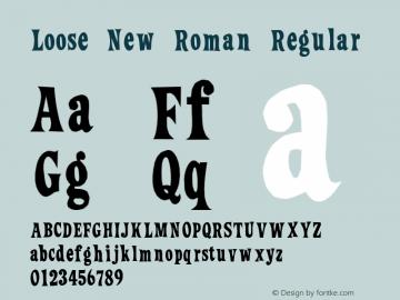 Loose New Roman