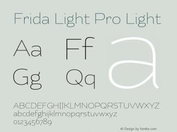 Frida Light Pro
