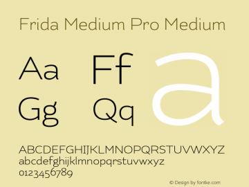 Frida Medium Pro