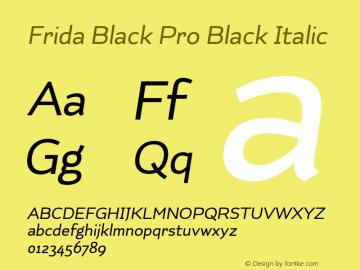 Frida Black Pro