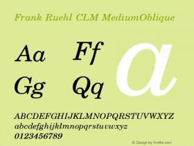 Frank Ruehl CLM
