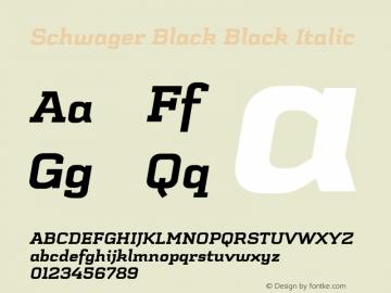 Schwager Black