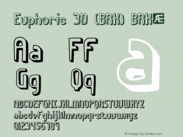 Euphoric 3D (BRK)
