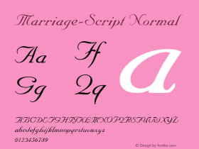 Marriage-Script