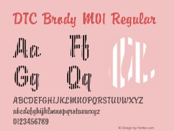 DTC Brody M01