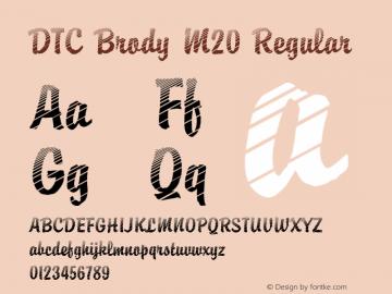 DTC Brody M20