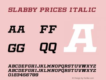 Slabby Prices