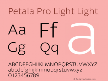 Petala Pro Light