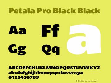 Petala Pro Black