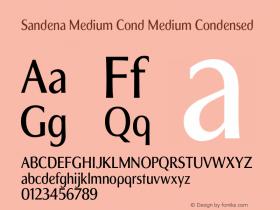 Sandena Medium Cond