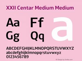 XXII Centar Medium