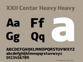XXII Centar Heavy