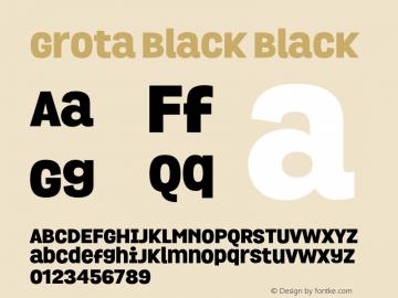 Grota Black