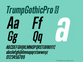 TrumpGothicPro