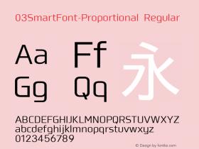 03SmartFont-Proportional