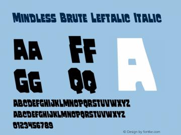 Mindless Brute Leftalic