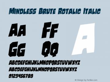 Mindless Brute Rotalic