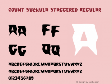 Count Suckula Staggered