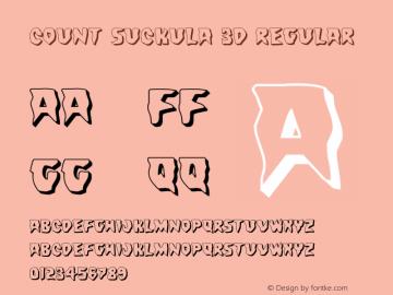 Count Suckula 3D