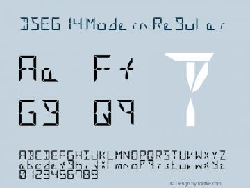 DSEG14 Modern