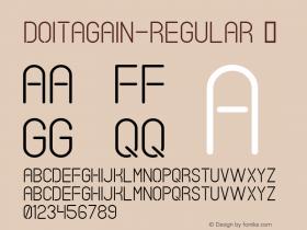 DoItAgain-Regular