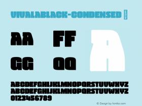 VivalaBlack-Condensed