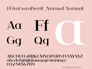 FF4aGoralSerif_Normal