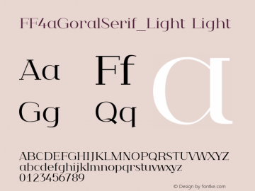 FF4aGoralSerif_Light