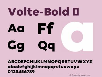 Volte-Bold