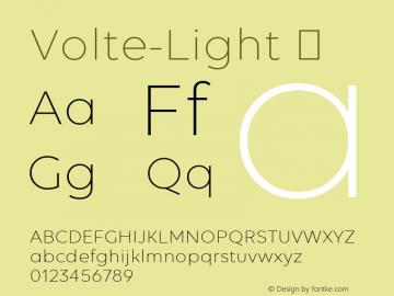 Volte-Light