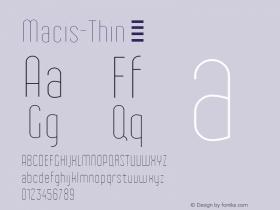 Macis-Thin