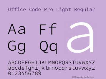 Office Code Pro Light