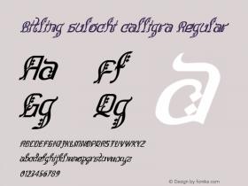 Bitling sulochi calligra