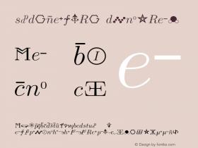 SVRsymbols