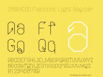268MKSD Fishhook Light