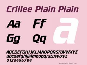 Crillee Plain
