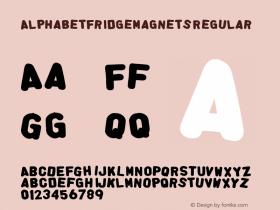 AlphabetFridgeMagnets